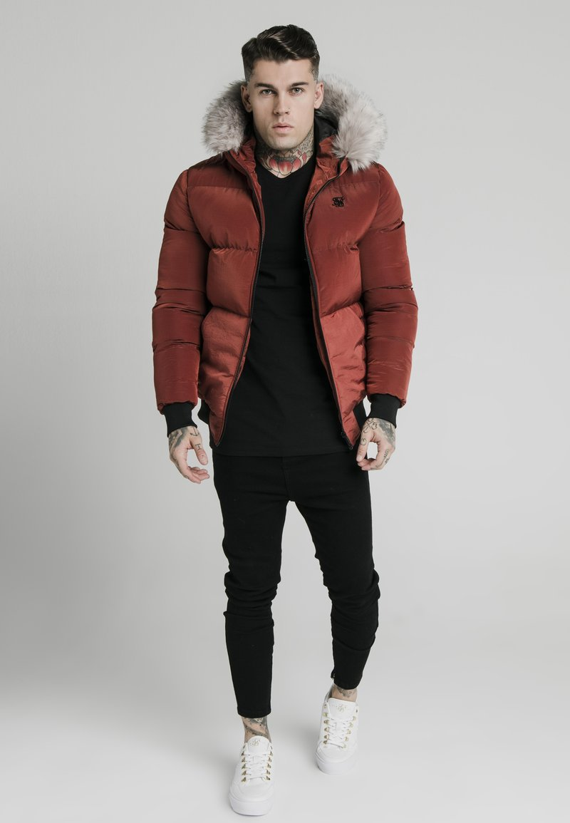 SIKSILK - DISTANCE JACKET - Winterjas - red