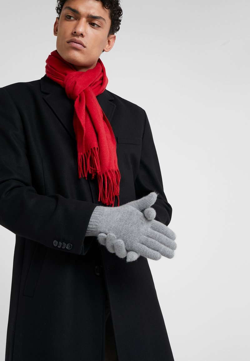 Johnstons of Elgin - CASHMERE GLOVES - Gloves - silver