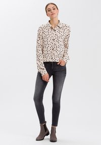 Cross Jeans - Button-down blouse - ecru - 1