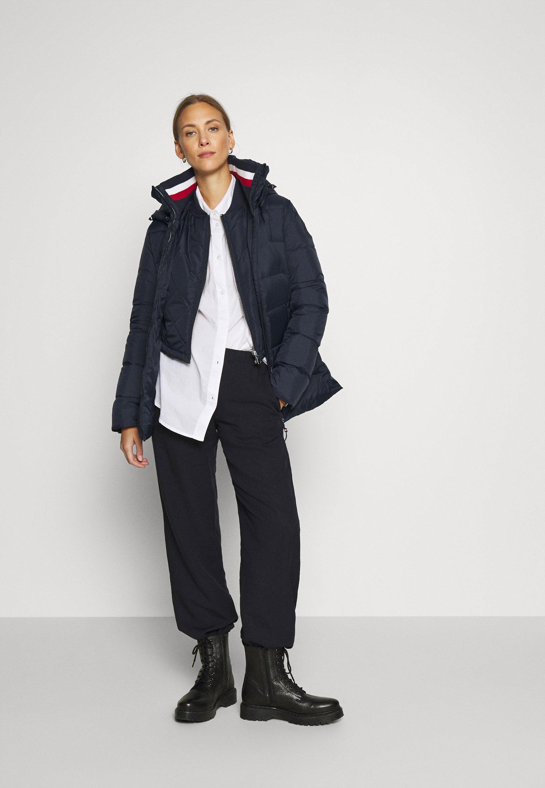Women GLOBAL STRIPE  - Down jacket