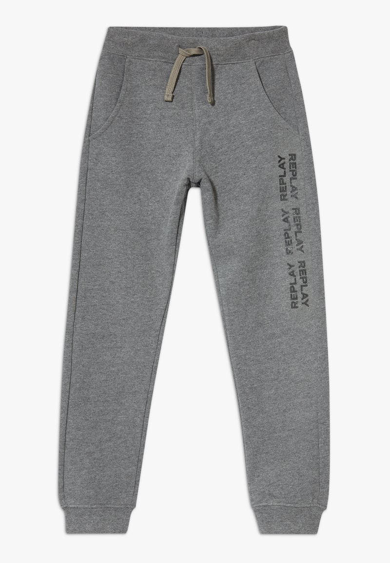 Replay - Tracksuit bottoms - mottled grey