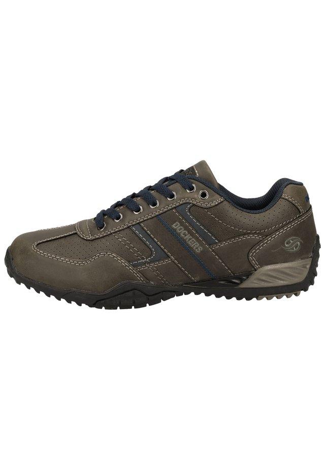 DOCKERS BY GERLI SNEAKER - Sneakers laag - dark grey