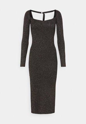 AMETRINE - Pouzdrové šaty - black