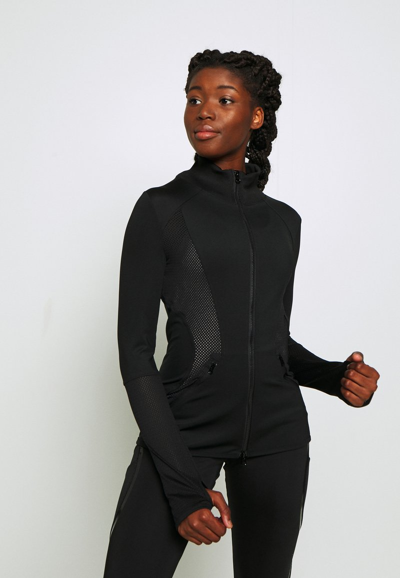 adidas by Stella McCartney - MIDLAYER - Treningsjakke - black