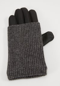 Even&Odd - LEATHER - Gloves - black - 1