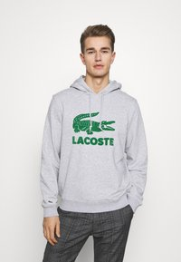 Lacoste - Hoodie - argent chine - 0