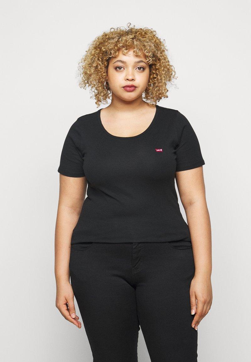 Levi's® Plus - TEE 2 PACK - Print T-shirt - black
