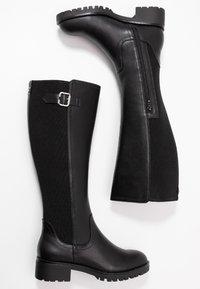 Anna Field - Vysoká obuv - black - 3