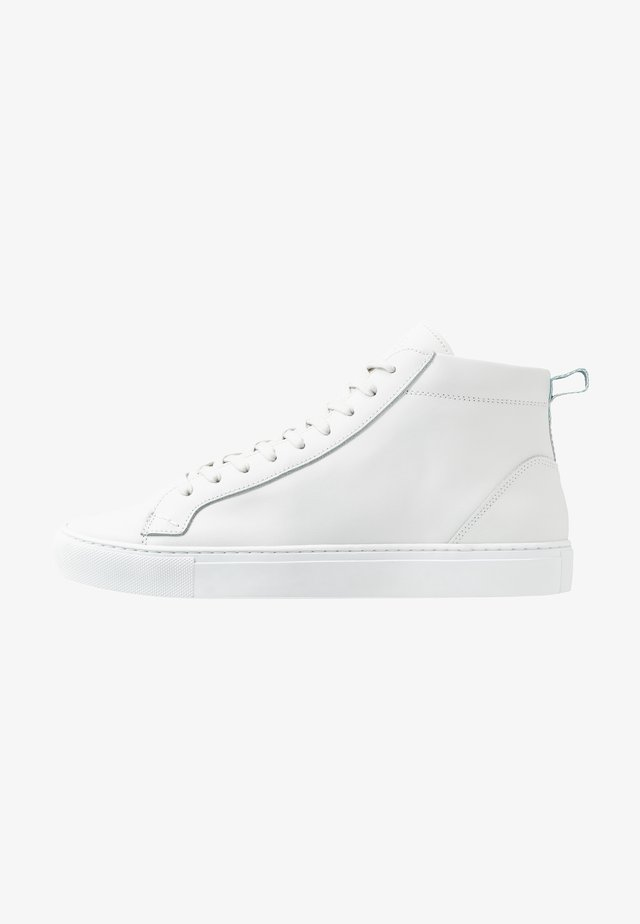 HOLMES - High-top trainers - white