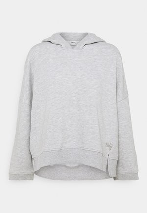 ONLENJA LIFE HOOD - Sweatshirt - light grey melange