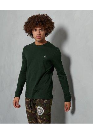 Långärmad tröja - academy dark green