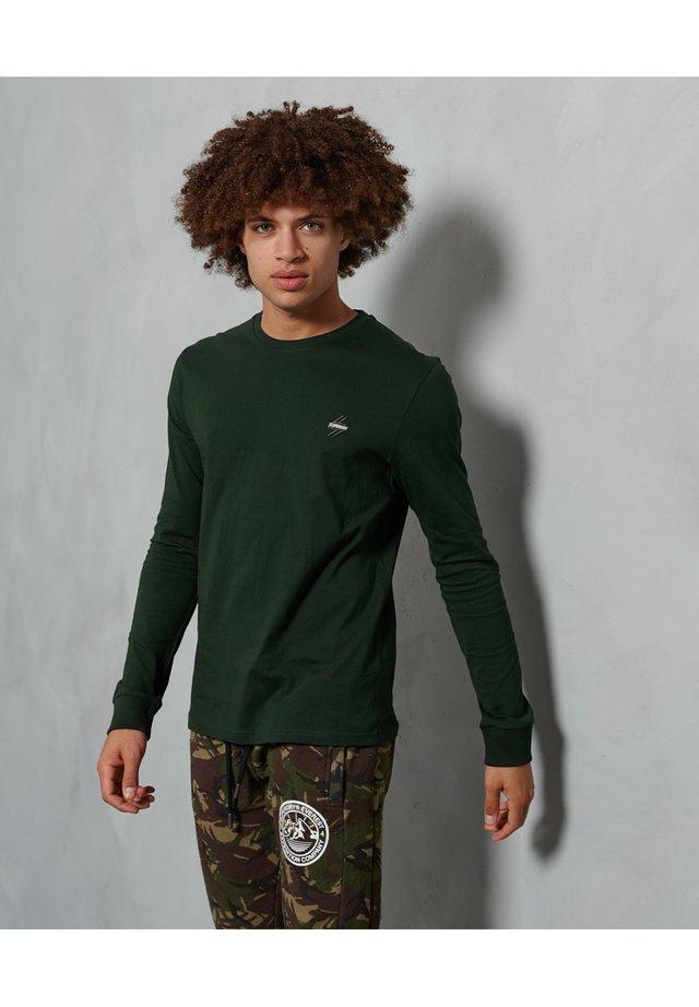 Pitkähihainen paita - academy dark green