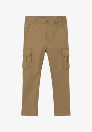 LOOSE TAPERED FIT - Cargo trousers - sand