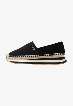 DAISY TRAINER - Espadrilky - perfect black