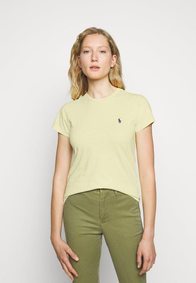 T-Shirt basic - banana peel