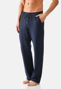 Mey - Pyjama bottoms - yacht blue - 0