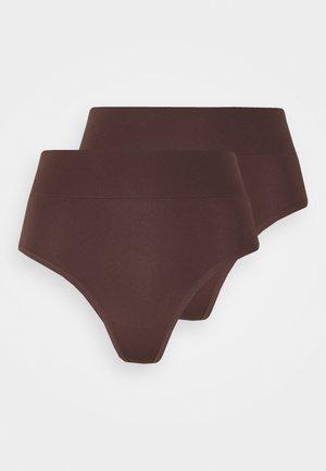 2 Pack - Tanga - brown