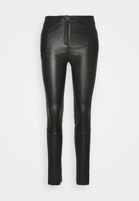 Oakwood - CELESTE - Leather trousers - black - 0