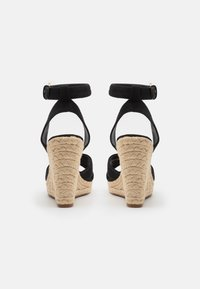 ONLY SHOES - ONLAMELIA LIFE STITCH  - Platform sandals - black - 3