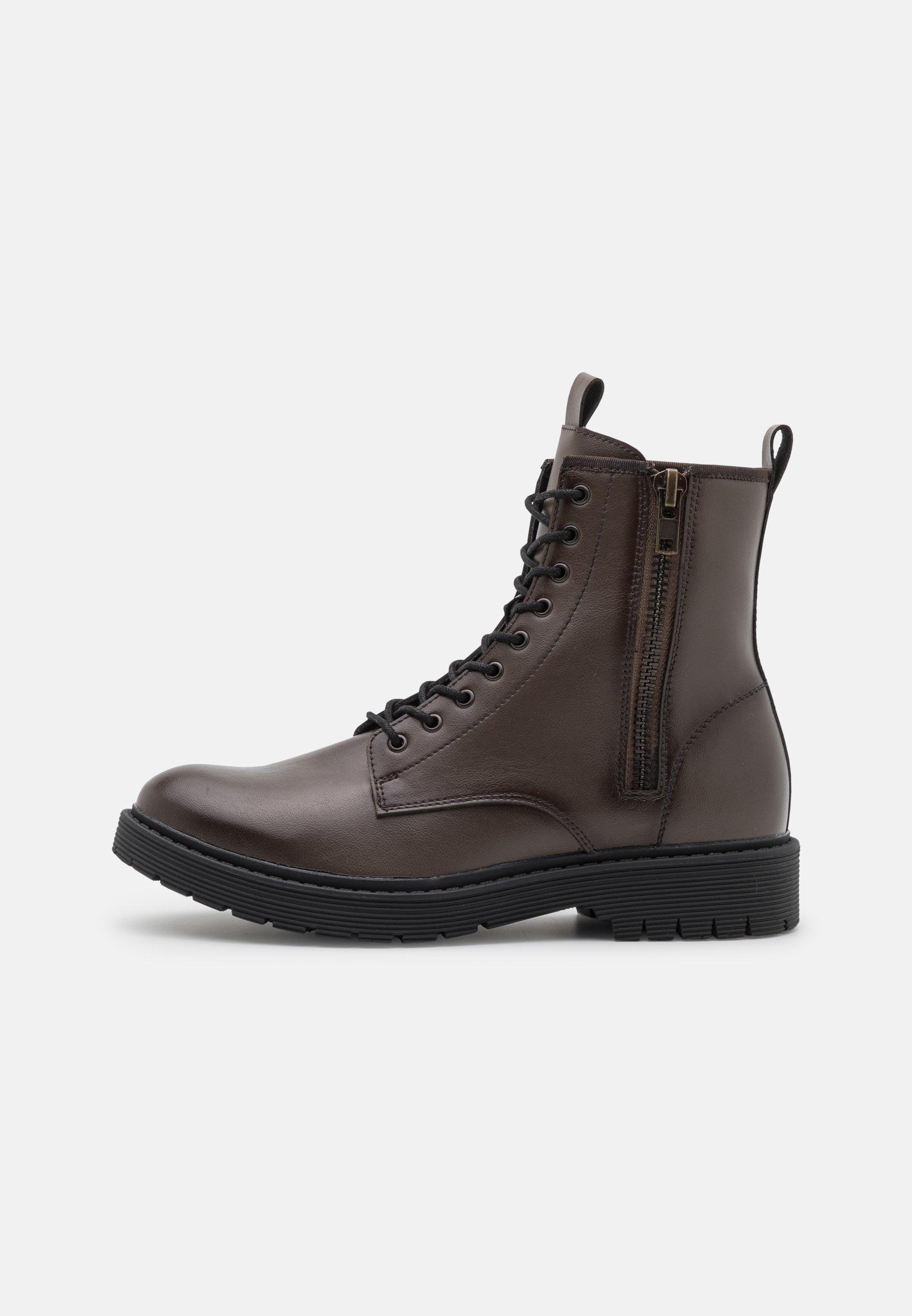 Men VEGAN AUSTIN - Lace-up ankle boots