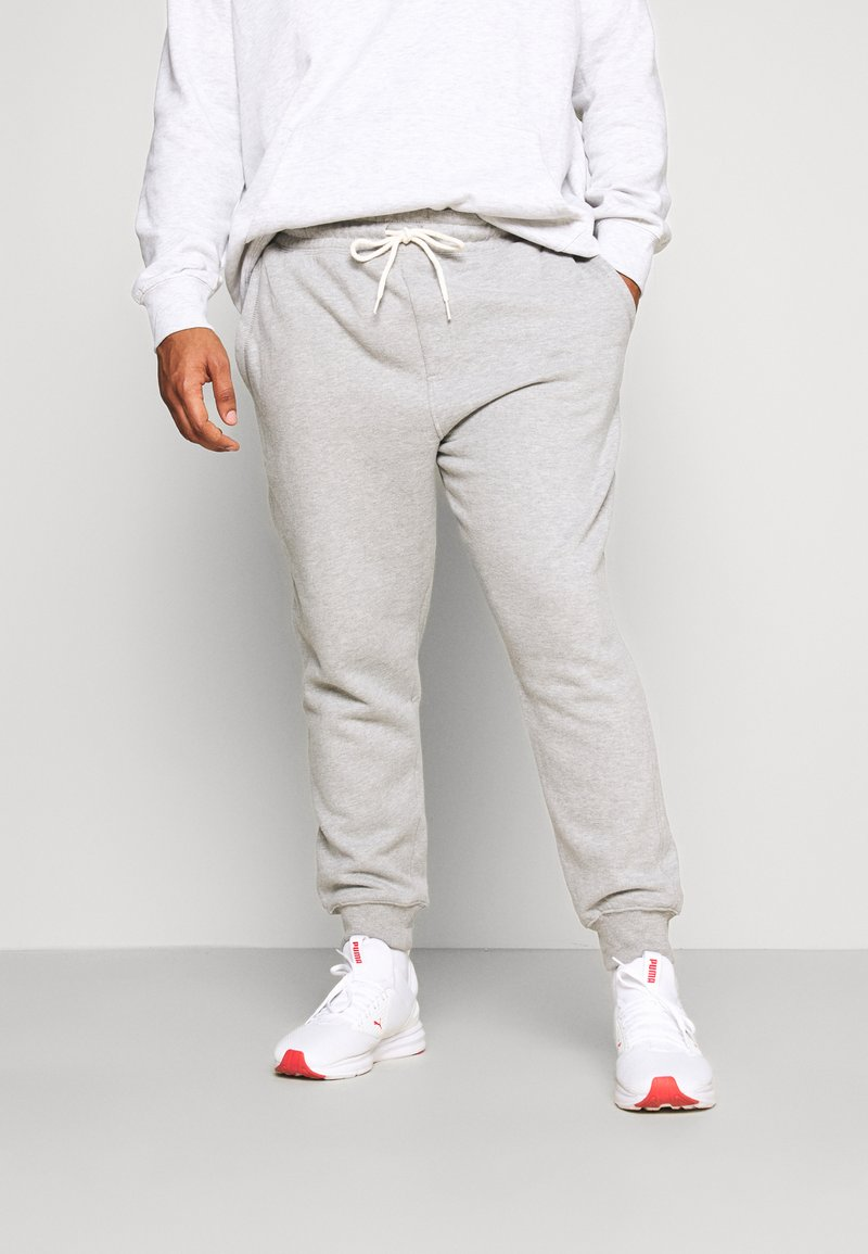 Cotton On - TRIPPY TRACKIE  - Tracksuit bottoms - peached grey marle