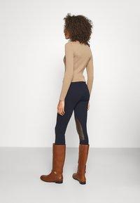Lauren Ralph Lauren - ATHEDORA - Leggings - Trousers - navy - 2