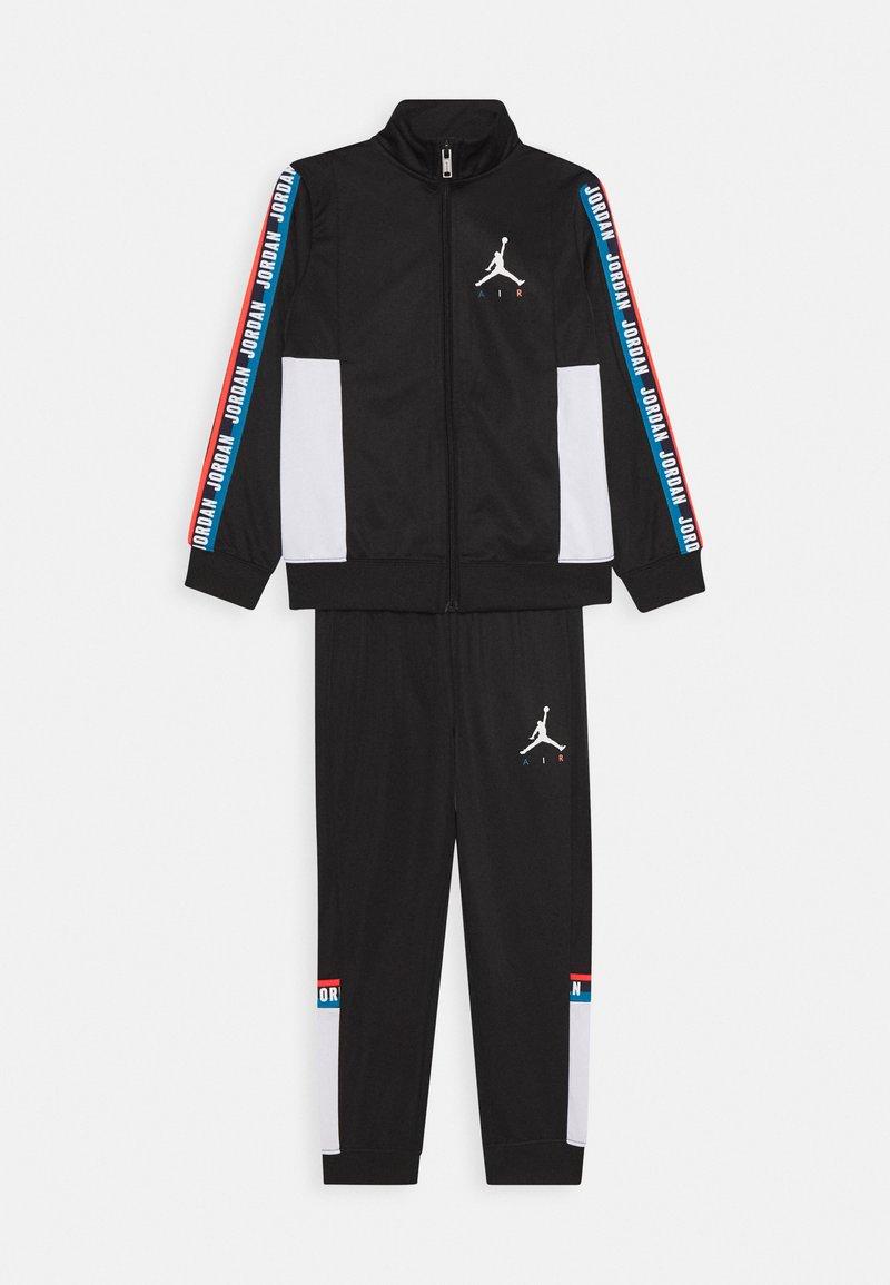 Jordan - JUMPMAN SIDELINE TRICOT SET - Tuta - black