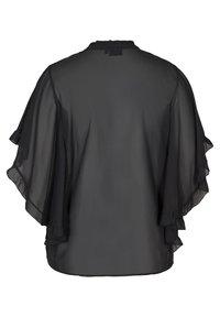 Zizzi - Button-down blouse - black - 6