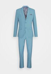 Isaac Dewhirst - PLAIN SUIT SET - Suit - turquoise - 11