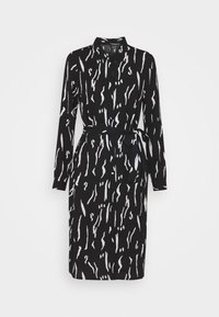 Vero Moda - VMELITA  - Shirt dress - black/white - 3