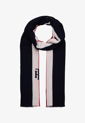 STATEMENT SCARF - Scarf - dark blue/red/white