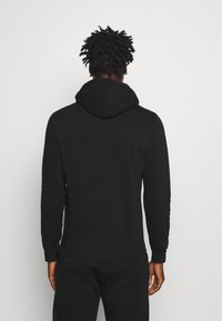 Champion - LEGACY HOODED - Luvtröja - black - 2