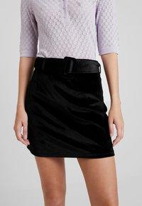 Fashion Union - CANDY SKIRT - Miniskjørt - black - 3