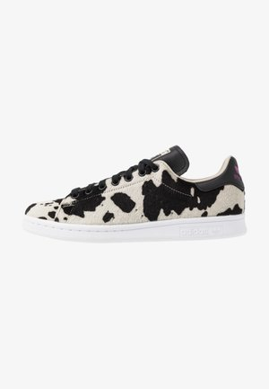 STAN SMITH  - Sneakers - core black/clear brwon/vivid pink
