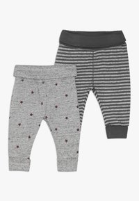 mothercare - BABY 2 PACK  - Tygbyxor - grey - 0