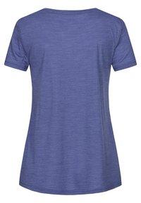 super.natural - TRAVEL - Basic T-shirt - blue - 2
