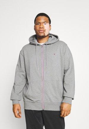 CORE ZIP HOODIE - Zip-up sweatshirt - medium grey heather