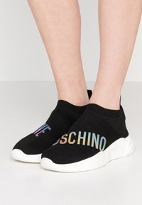 Love Moschino - High-top trainers - black - 0