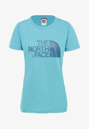 WOMENS EASY TEE - Print T-shirt - light blue