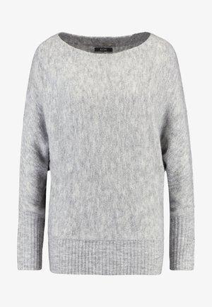 Jumper - mottled light grey
