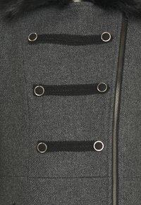 NAF NAF - Frakker / klassisk frakker - gris anthracite - 3