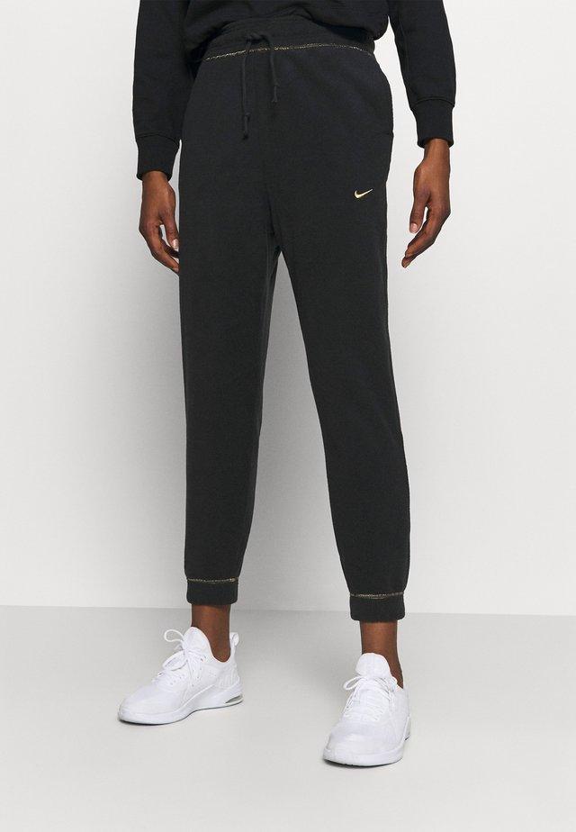 Teplákové kalhoty - black/metallic gold