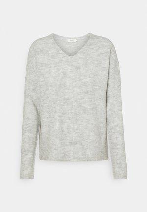 ONLCAMILLA - Jumper - light grey melange