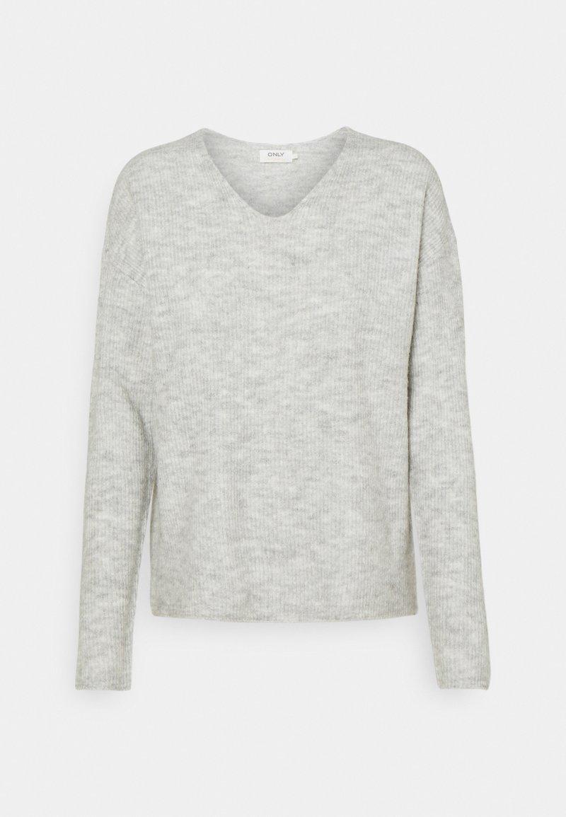 ONLY - ONLCAMILLA - Trui - light grey melange