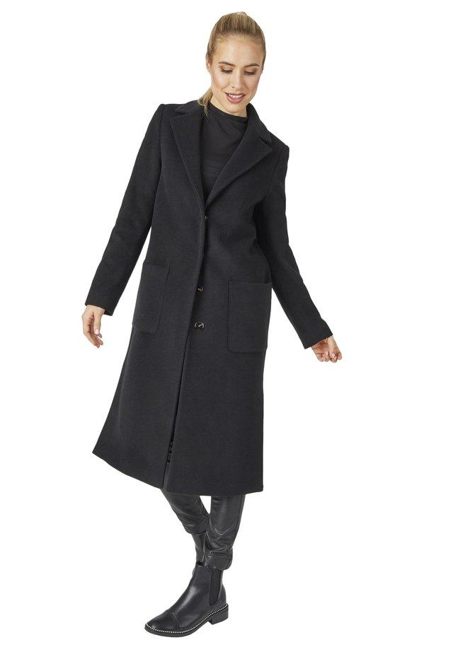 MODISCHER DESIGN - Classic coat - schwarz