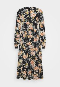 PIECES Tall - PCMAGGI MIDI DRESS - Denní šaty - black - 7