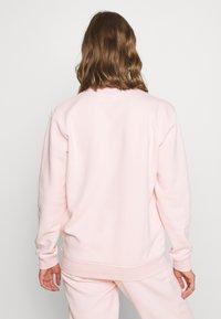 NEW girl ORDER - WORLDWIDE SWEAT CO-ORD - Bluza - pink - 2