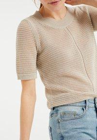 WE Fashion - Printtipaita - beige - 3
