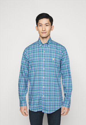 Overhemd - blue/pink multi