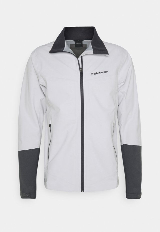 VELOX JACKET - Outdoorjas - light grey